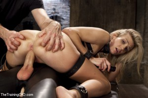 the training of O - sex slave is going to get stuffed